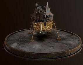 Lunar Module - LEM - Apollo program 3D model realtime