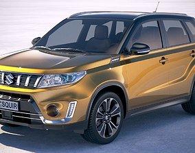 3D model Suzuki Vitara 2019
