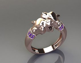 3D print model Panther Ring 1 - Good Quality