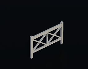 3D model Fence 03