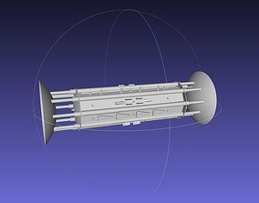 3D print model Orion Drive Two Ended Interstellar Ship