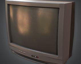 3D model Television 01 Retro 80s