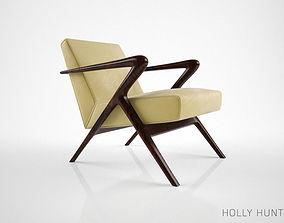 Holly Hunt Capri Lounge Chair 3D model