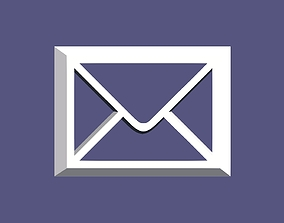 3D printable Mail shape