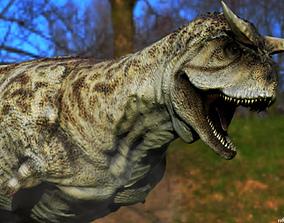 dinosaur Carnotaurus 3D model