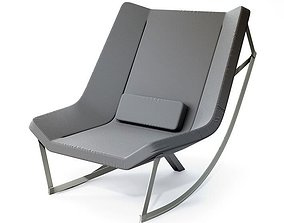 3D model Modern Grey Armchair