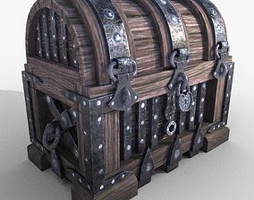 chest and safe 3D model