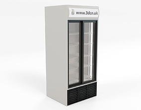 3D Freezer supermarket display unit