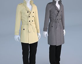 Mannequin Male trench coat cloth model For Shop Vol 2