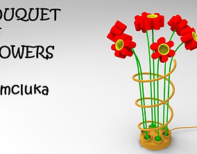 3D model Bouquet of flowers