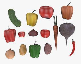 3D Vegetable Pack