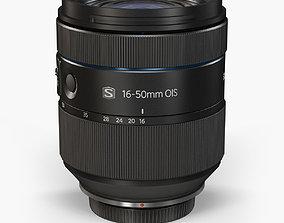 3D model Samsung 16-50mm F 2-2-8 S ED OIS Lens
