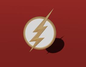 Flash Logo 3D model