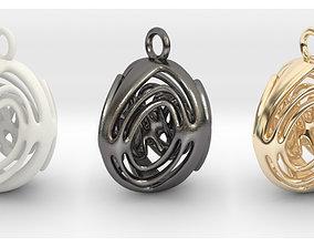 3D print model Unique Pendant