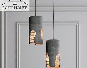 Hanging lamp LOFT HOUSE P-185 3D model