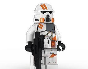 LEGO Minfigure Clone Trooper Airborne 3D