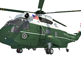 3D model Marine One Helicopter