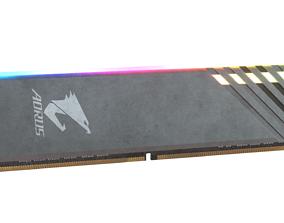Aorus RAM 3D model