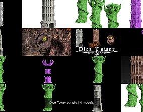 Dice Tower bundle 3D
