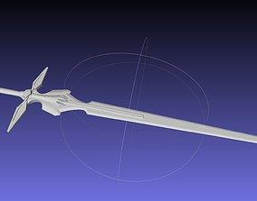 3D printable model Sword Art Online Dark Repulser Sword