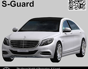 Mercedes Benz S-Guard 3D asset