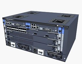 supercomuter 3D Huawei Server