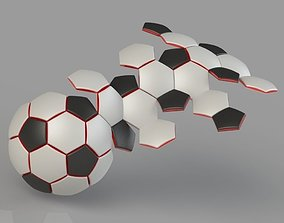 Soccer Ball 32 Panel Construction 3D printable model