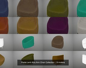 Paola Lenti Afra Arm Chair Collection 3D model