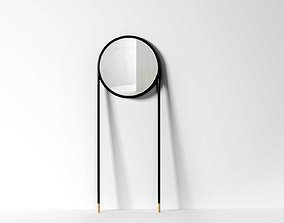 bathroom Circular Mirror 3D model