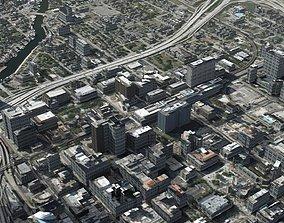 3D Modern Coastal City