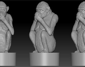 monkey3 3D print model