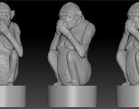 3D printable model monkey3