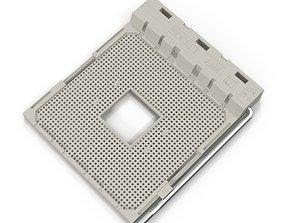 Socket AM 4 3D computer