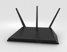 3D model NetGear AC1900 Wi-Fi Router