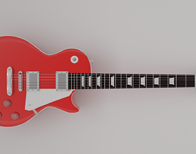 Guitar Model Les Paul 3D