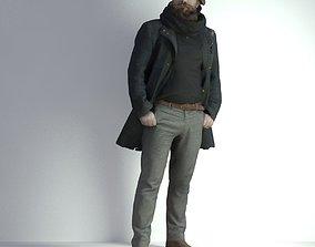 3D Scan Man Winter 002