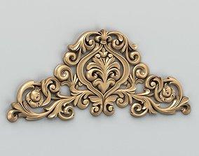 3D model Carved decor central 009
