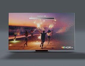Samsung QE85Q950TSUXUA TV 3D asset