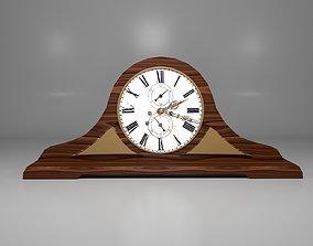 3D asset House clock