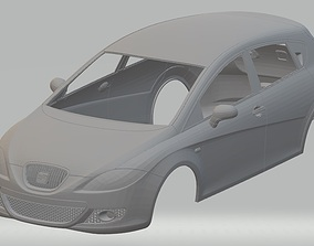 Seat Leon 2008 Printable Body Car