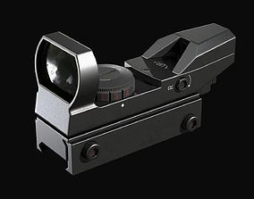 3D asset Red dot Reflex