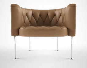 3D model Walter knoll Hausmann 310 armchair