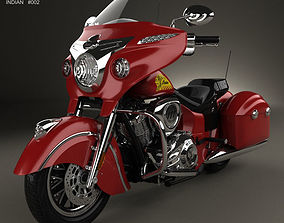 Indian Chieftain 2015 3D