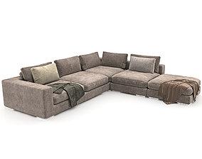 05 Sofa Element Sofa Club 1 3D model