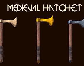 3D model Custom Medieval Hatchet