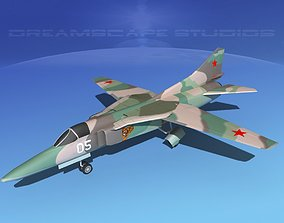 Mig-27 Flogger LP USSR 2 3D asset