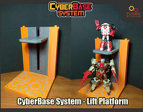 CyberBase System Lift Platform 3D printable model