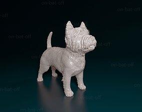 3D print model West highland white terrier