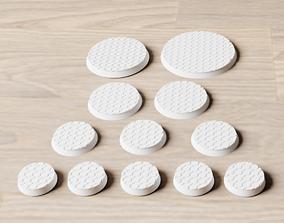 Geometric Tiles Bases Pack 3D print model