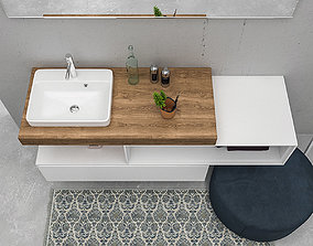 3D model Bathroom furniture set eGo 4
